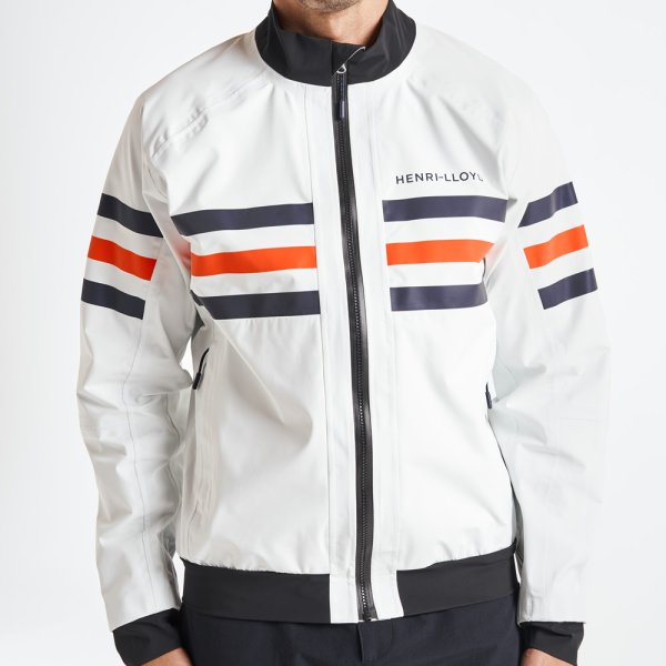 画像1: ヘンリーロイド Fremantle Stripes Crew Jacket (1)