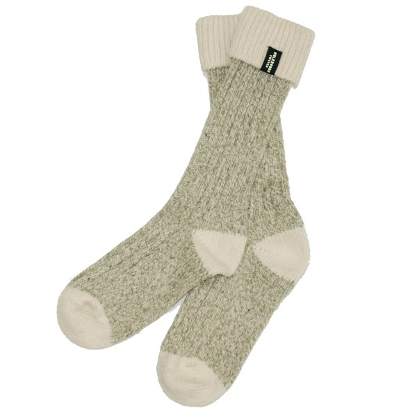 画像1: 【SALE】【50%OFF】HOLEBROOK BROMMO RAGGSOCKA ウール混厚手ソックス (1)